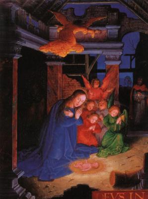 Жерар Хорнебоут. Рождение Иисуса