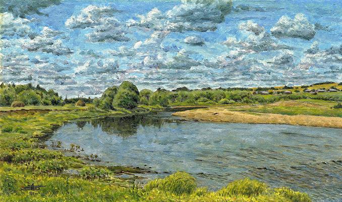 Andrei Ivanovich Borisov. North river