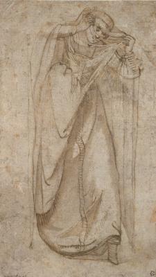 Gentile Bellini. Girl in oriental costume