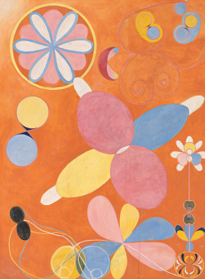 Hilma af Klint. The Ten Largest, No. 4, Youth
