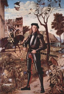 Витторе Карпаччо. Портрет рыцаря