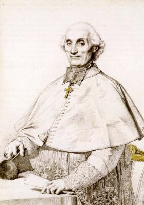 Жан Огюст Доминик Энгр. Монсеньор Габриэль Кортуа де Пресиньи