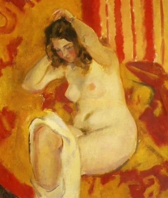 Nikolai Andreevich Tyrsa. Nude