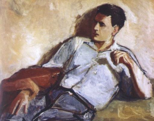 Александр Аркадьевич Лабас. Портрет поэта  Переца Маркиша