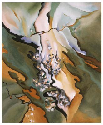 Georgia O'Keeffe. From the lake No. 3