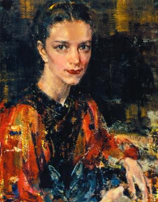 Nikolay Feshin. Daughter.