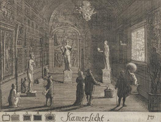 Самюэл ван Хогстратен. Введение в высшую школу живописи. Свет в комнате