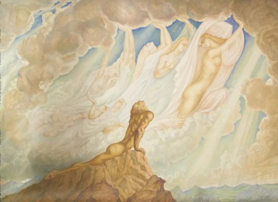 Jean Delville. Ideas. Heaven on earth