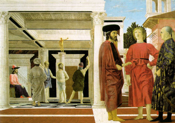 Piero della Francesca. Flagellation Of Christ