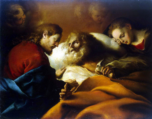 Alonso Cano. The Death Of St. Joseph