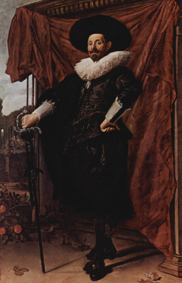 Франс Халс. Портрет Виллема ван Хейтхойзена
