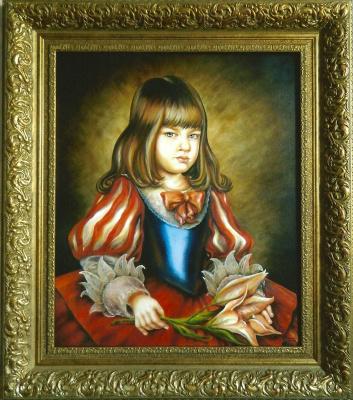 Margarita Anatolievna Chakova. Flower Princess