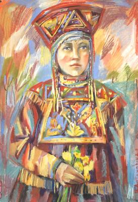 Irina Valerievna Antonovskaya. Young lady