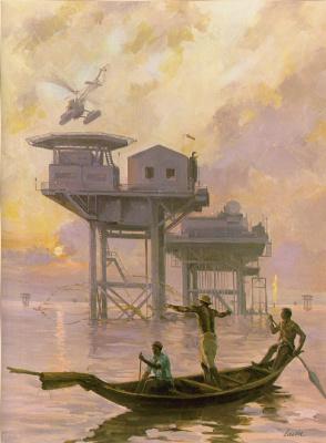 Роберт Лавин. Нефтяное месторождение Нигерия