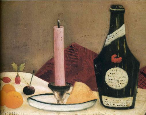 Henri Rousseau. Pink candle