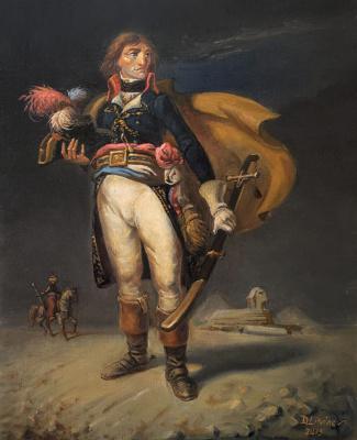Daniil Litvinov. Napoleon in Egypt
