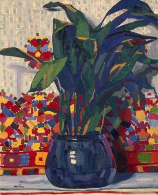 Auguste Erben. Flowers