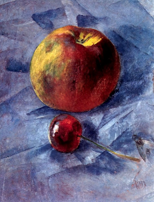 Kuzma Sergeevich Petrov-Vodkin. Apple and cherry
