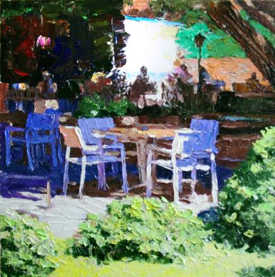 Michael Mine. Dining in Alanya