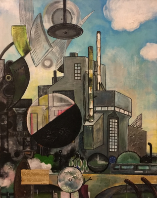 Edward Zibnitsky. Industrial Landscape