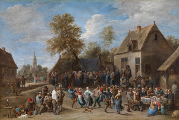 David Teniers the Younger. Kermessa Holiday in the village