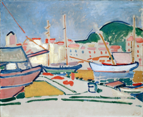 Andre Derain. The Port Of Le Havre