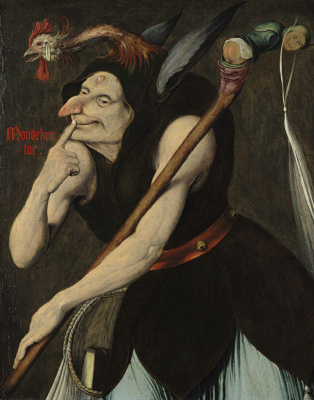 Quentin Masseys. Allegory of Stupidity