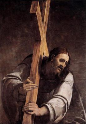 Себастьяно дель Пьомбо. Несение креста