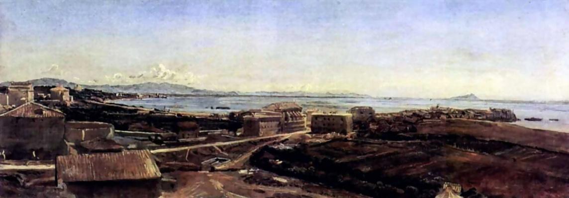 Александр Андреевич Иванов. Торре дель Греко близ Помпеи
