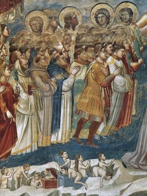 Giotto di Bondone. Judgment. Fragment 12