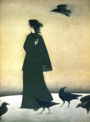 Will Barnet. Black crows