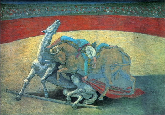 Pablo Picasso. Bullfighting