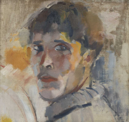 Rick Wouters. Portrait of Rick (without a hat)