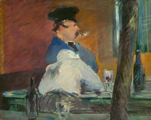 Edouard Manet. The Bar