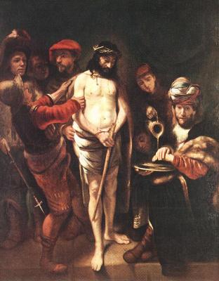Nicolas Mas. Christ before Pilate