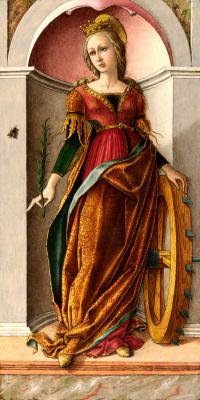 Carlo Crivelli. Saint Catherine Of Alexandria