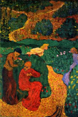 Jean Edouard Vuillard. Women in the Garden
