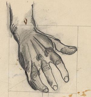 Alexander Alexandrovich Deineka. The hand