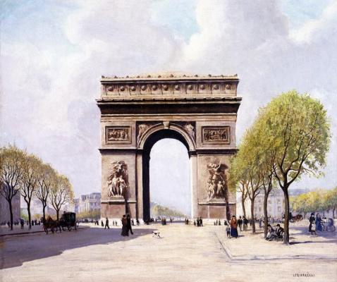 Жан-Франсуа Рафаэлли. Триумфальная Арка