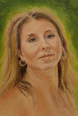 Irina Viktorovna Dronova. Female portrait