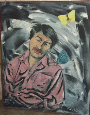 Nikolay Zverev. Butterfly