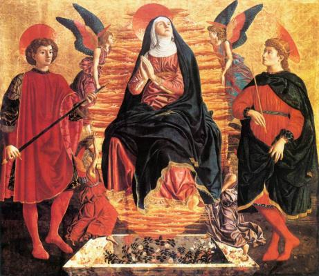 Андреа дель Кастаньо. Успение Пресвятой Девы