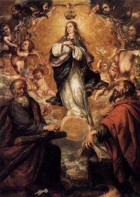 Хуан де Вальдес Леаль. Богородица
