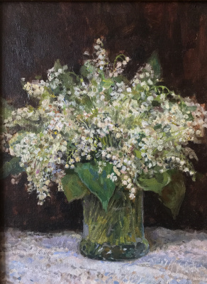 Aleksandr Chagadaev. Lilies of the valley