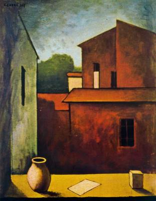 Карло Карра. Красный дом