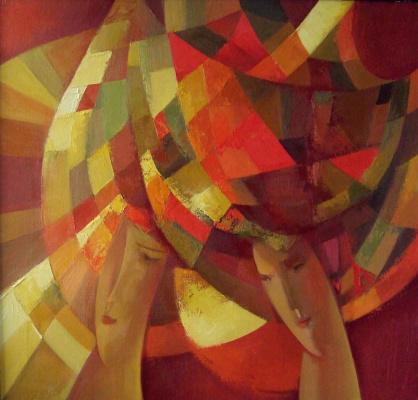 "Galina Nikolaevna Kononova. ""The caryatids of autumn"""
