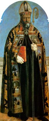 Piero della Francesca. St. Augustine