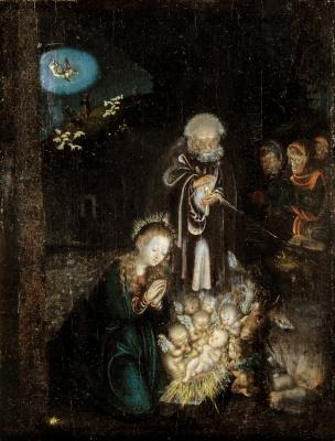 Lucas Cranach the Elder. Christmas