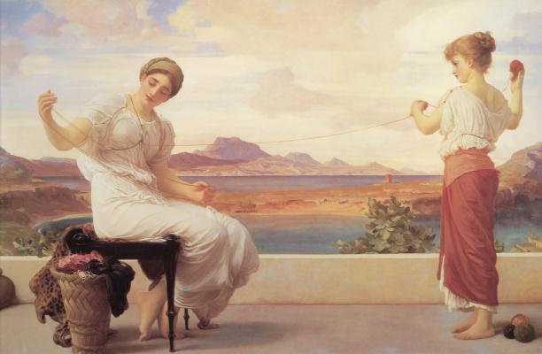 Frederic Leighton. Skein