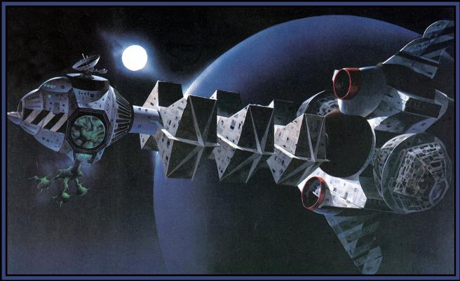 Робин Хиддон. Космическое пространство